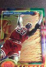 1993 - 1994 Topps Finest Michael Jordan Chicago Bulls #1 Basketball Card