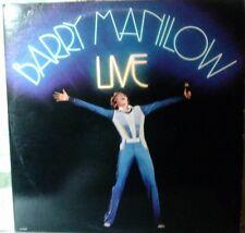 Barry Manilow Live. Double Lp 12 inch 33 rpm