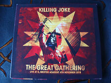 Slip CD Double: Killing Joke : The Great Gathering Live At Brixton Academy 2016