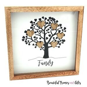 Tree of Life  Personalised Family Frame Gift Mum Aunty Nanna Sister Birthday