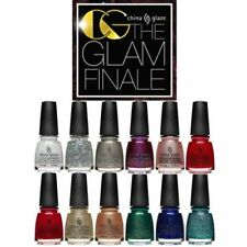 China Glaze -GLAM FINALE HOLIDAY '17 -12pcs Full Collection