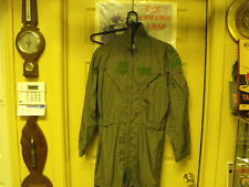 US Military Issue Green  Flight Suite, 27/P size 40 Long  Sage Green