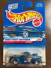 HOT WHEELS 1998 FIRST EDITIONS WHEELS '40 FORD COLLECTOR # 654 (18674)