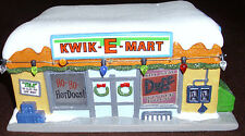 SIMPSONS KWIK-E-MART COLLECTIBLE 25TH ANNIVERSARY DEPT 56 ENESCO 2013 NIB