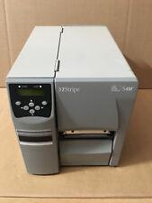 Zebra S4M Serial Ethernet Usb térmica impresora de etiquetas de código de barras + Garantía