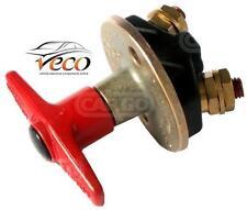 WATERPROOF 300 AMP HEAVY DUTY BATTERY ISOLATOR MAIN SWITCH CAR BOAT TRUCK 180271