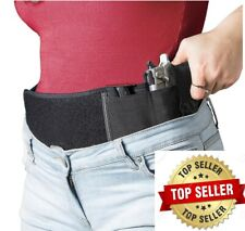 Concealed Carry Belly band holster with magazine pocket. Soft case Neoprene