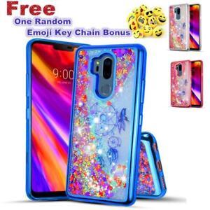 For LG G7 ThinQ/G7 Glitter Sparkle Liquid Quicksand Soft Shock Resistant Case