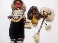 Indian Eskimo Dolls Indian Baby Doll vintage dolls Moccasin Job lot