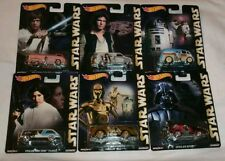 2015 Hot Wheels Pop Culture E Case Complete Set of 6 Star Wars NEW RED HOT!