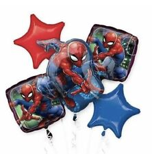 Spider-Man (5) Mylar Foil Balloon Bouquet Party Decoration