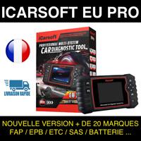 ✅Valise Diagnostique Multimarque Auto En Français Obd avec Ecran ICARSOFT EU PRO