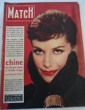 Paris Match 19/02/1955;  La Chine et la Russie/ Véra la Diabolique