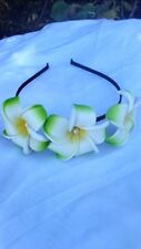 Plumeria Flower Headband Wedding Party Bali