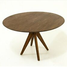 MidCentury Round Dining Table