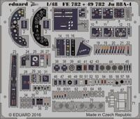 Eduard Accessories Fe782 - 1:48 Ju 88A-4 for Icm - Edging Kit - New