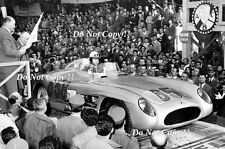 Juan Manuel Fangio Mercedes 300 SLR Mille Miglia 1955 Photograph