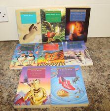 8x Children's Puffin Classic Books Secret Garden Wizard of Oz Looking glass Alic