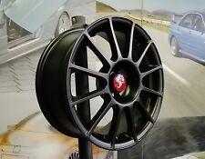 """Kit 4 Jantes Alliage 7,5jx17"""" pour Fiat 500 ABARTH, ESSEESSE, 595, 695, Cabrio"""