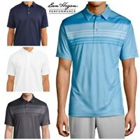 NEW Ben Hogan Performance Short Sleeve Printed Golf Polo Shirt Size  S - 3XL