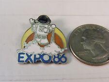 EXPO '86 1986 ASTRONAUT TRAVEL PIN