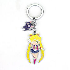 Sailor Moon Porte Clés Metal Sailor Moon & Luna - 6 cm