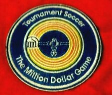 Foosball PATCH Tournament Soccer The Million Dollar Game Table Stocking Stuffer