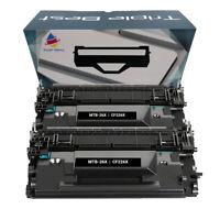 Toner for HP 26X CF226X M426fdn M426fdw M402n M402dn M402dw M426dw M402d (2 PK)