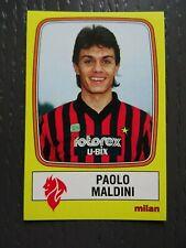 PANINI  PAOLO MALDINI CALCIATORI 1985/86 -MINT CONDITION
