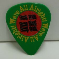 Cheap Trick Rick Nielson Guitar Pick Green We're All Alright