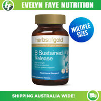 HERBS OF GOLD B Complete Sustained Release - 60 / 120 Tablets | Vitamin B