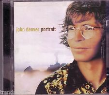 JOHN DENVER Portrait 2CD Classic 70s Country SUNSHINE ON SHOULDERS ANNIES SONG