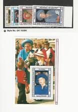 Barbuda, Postage Stamp, #1135-1139 Mint NH, 1990 Queen Elizabeth, JFZ
