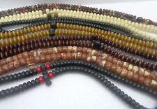 7 pcs 99 Misbaha Tasbih Tasbeeh Sibha Masbaha Islamic handmade Prayer Beads wood