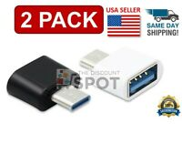 USB C Male to USB Type A Female Adapter Sync Data Hub OTG Function