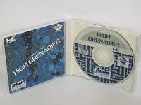 HIGH GRENADIER Ref/ccc PC-Engine CD PCE Grafx JapanGame  Game pe