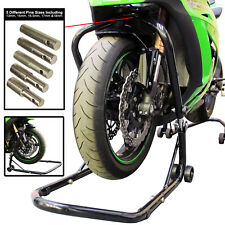 Motorcycle Front HEADSTOCK Head Lift Paddock Motorbike Adjustable Bike STAND