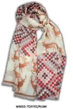 OZWEAR UGG Women's Merino Wool Scarf WS002 New Gift 1830X640 mm
