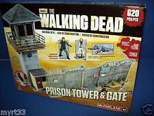 Walking Dead Construction Set Prison Tower e Gate McFarlane Toys
