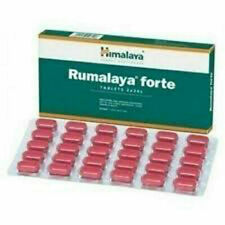 Himalaya Herbal Rumalaya Forte tablets 2x 60 Dual advantage arthritis control fr