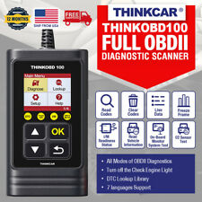 THINKOBD 100 Car OBD2 II Scanner Code Reader Check Engine Fault Diagnostic Tool