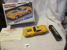 Vintage Taiyo Waco Motora Wave Battery Operated Rc Corvette Stingray In Box