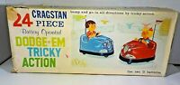 Cragstan 24 pc DODGE-EM Tricky Action Toy w/Box 1960 - Peices Missing - Untested