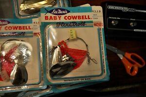 Les Davis Luhr Jensen BABY Cowbell ~ NICKEL