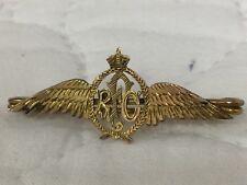 RFC/Sweethear Brooch/ Badge Gold