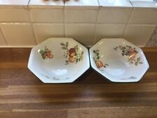 More details for johnson brothers fresh fruits cereal bowls x2.