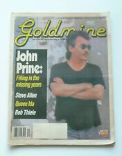 GOLDMINE MUSIC MAGAZINE/NEWSPAPER DECEMBER 11th 1992 - JOHN PRINE - STEVE ALLEN