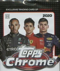 2020 Topps Chrome Formula 1 Racing - Pick Your Card - Complete Your Set