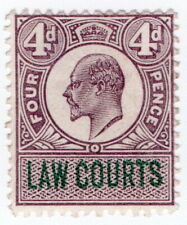 (I.B) Edward VII Revenue : Law Courts (Scotland) 4d