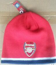 official arsenal football club knitted wool hat afc the gunners london